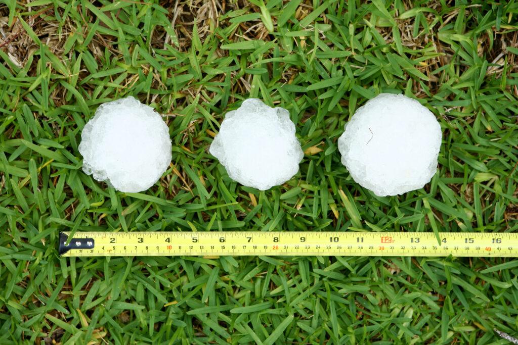 Parametric hail insurance